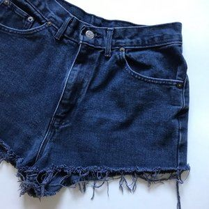 High-waisted Denim Shorts by Chic